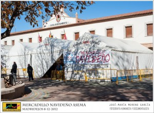 Carpa del mercadillo